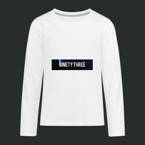 Ninety Three Official (1st Cop) - Kids' Premium Long Sleeve T-Shirt