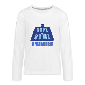 Cape and Cowl Unlimited - Kids' Premium Long Sleeve T-Shirt