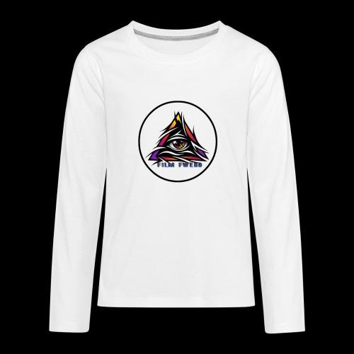 Film Fwend logo - Kids' Premium Long Sleeve T-Shirt