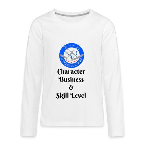 SB Seal Design - Kids' Premium Long Sleeve T-Shirt