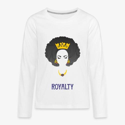 RoyaltyQueen - Kids' Premium Long Sleeve T-Shirt