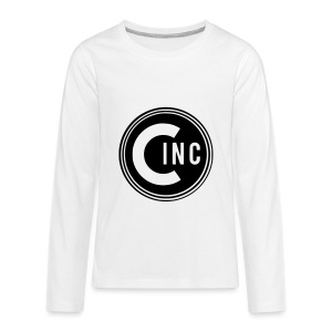 Coasters Inc. Logo - Kids' Premium Long Sleeve T-Shirt