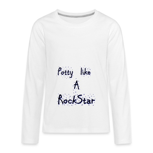 potty - Kids' Premium Long Sleeve T-Shirt