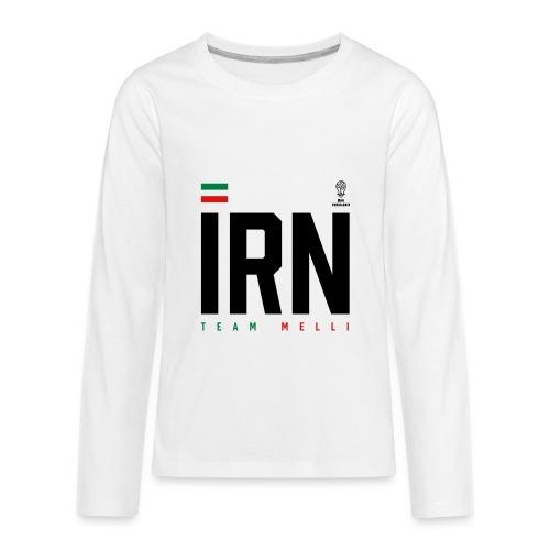 Iranian Apparel World Cup Tee - Kids' Premium Long Sleeve T-Shirt