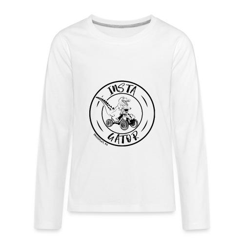 Insta Gator - Kids' Premium Long Sleeve T-Shirt