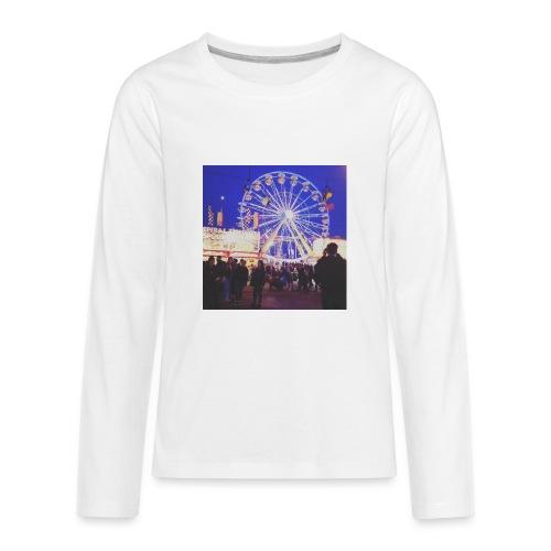 night falls down - Kids' Premium Long Sleeve T-Shirt