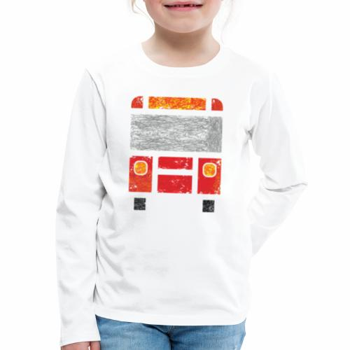 Iconic Red Bus - Kids' Premium Long Sleeve T-Shirt