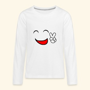 Comic smile - Kids' Premium Long Sleeve T-Shirt