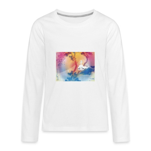Kids See Ghosts - Kids' Premium Long Sleeve T-Shirt