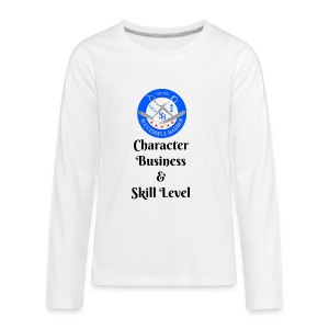 SB Seal Design - Kids' Premium Long Sleeve T-Shirt