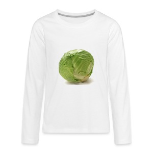 CabbageTexts Streetwear - Kids' Premium Long Sleeve T-Shirt