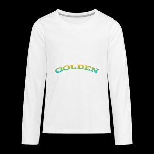 Golden shirts for kids and babys - Kids' Premium Long Sleeve T-Shirt