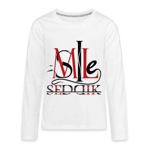 Seddik smile - Kids' Premium Long Sleeve T-Shirt