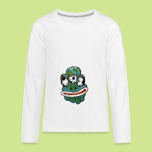 Earth Face - Kids' Premium Long Sleeve T-Shirt