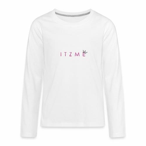 ItzMe - Kids' Premium Long Sleeve T-Shirt