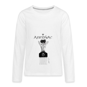 tshirtAfroArtD2 copy - Kids' Premium Long Sleeve T-Shirt