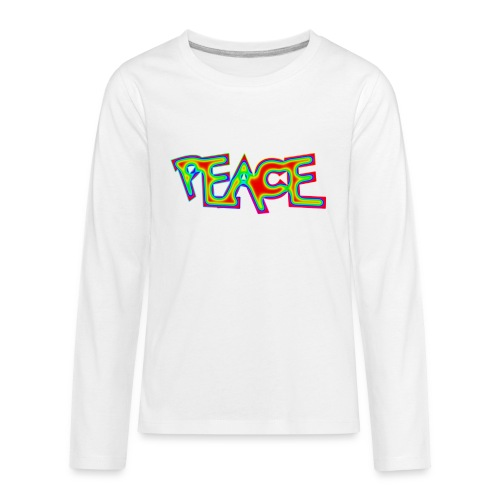 PEACE - Kids' Premium Long Sleeve T-Shirt