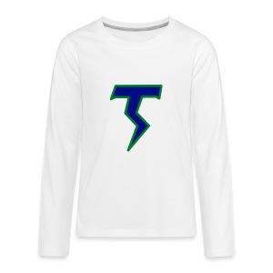 Thunder T - Kids' Premium Long Sleeve T-Shirt
