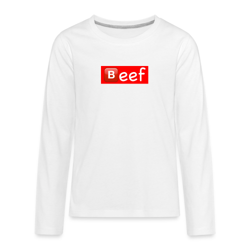 Beef//Kids Sizes - Kids' Premium Long Sleeve T-Shirt
