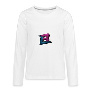 BlaZe Kranteon Logo - Kids' Premium Long Sleeve T-Shirt