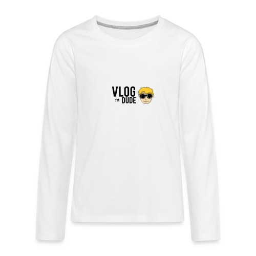 VLOG DUDE - Kids' Premium Long Sleeve T-Shirt