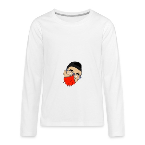 Drippy Mask - Kids' Premium Long Sleeve T-Shirt