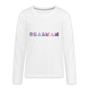 REALMAN Merch - Kids' Premium Long Sleeve T-Shirt