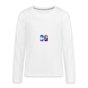 CG_Logo - Kids' Premium Long Sleeve T-Shirt