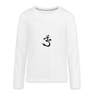 Aoum-Three - Kids' Premium Long Sleeve T-Shirt