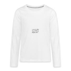 I can do all things through Christ - Kids' Premium Long Sleeve T-Shirt