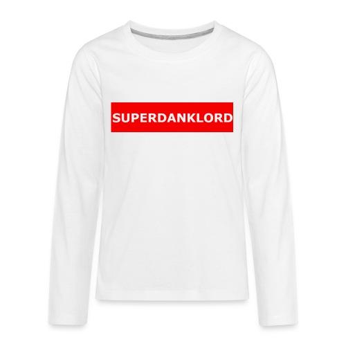 REDbannerMrch - Kids' Premium Long Sleeve T-Shirt