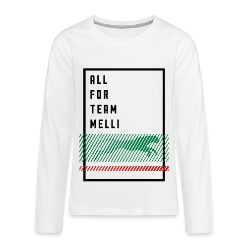 All For Team Melli - Kids' Premium Long Sleeve T-Shirt