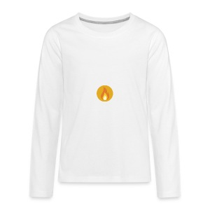 Flame (For cases and Cups) - Kids' Premium Long Sleeve T-Shirt