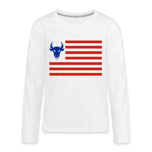 PivotBoss Flag - Kids' Premium Long Sleeve T-Shirt