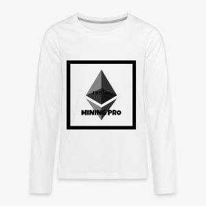Future Ethereum Mining Pro - Kids' Premium Long Sleeve T-Shirt