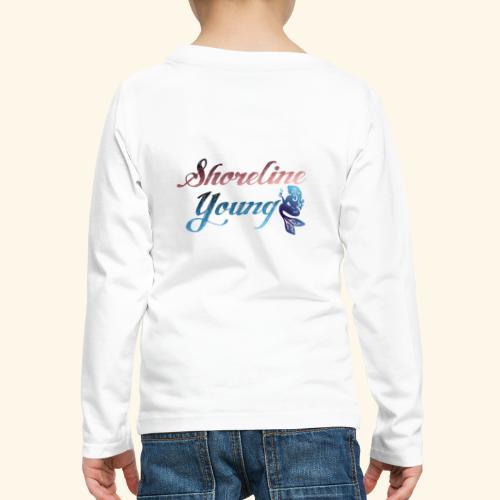 Shorlinepinkblue - Kids' Premium Long Sleeve T-Shirt