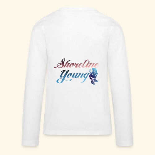 Shorlinepinkblue - Kids' Premium Long Sleeve T-Shirt