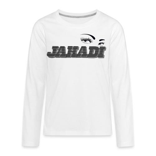 HadiLogo - Kids' Premium Long Sleeve T-Shirt