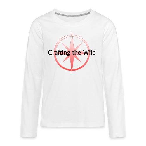 Crafting The Wild - Kids' Premium Long Sleeve T-Shirt