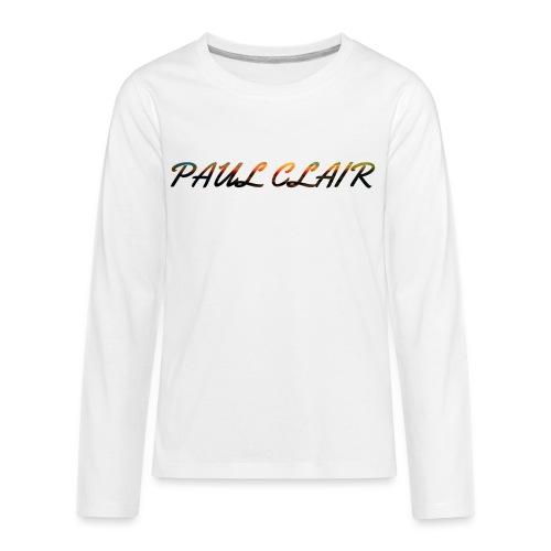 Rainbow Paul Clair Youth & Babies - Kids' Premium Long Sleeve T-Shirt