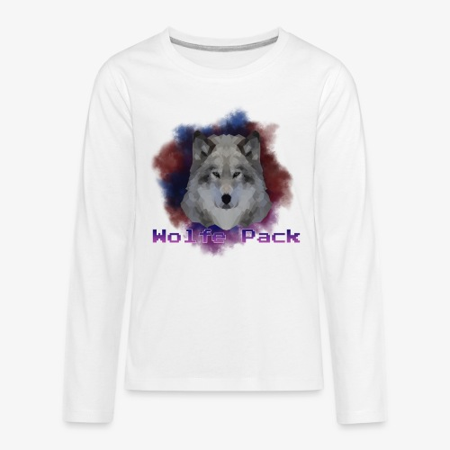 Wolfe Pack - Kids' Premium Long Sleeve T-Shirt