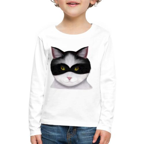 I am called the Masked Cat - Kids' Premium Long Sleeve T-Shirt