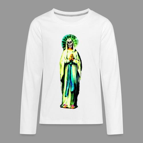 Cult Of Santa Muerte - Kids' Premium Long Sleeve T-Shirt