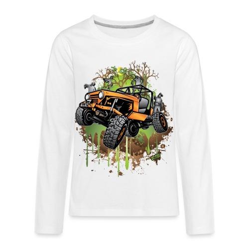Jeep Halloween Zombie - Kids' Premium Long Sleeve T-Shirt