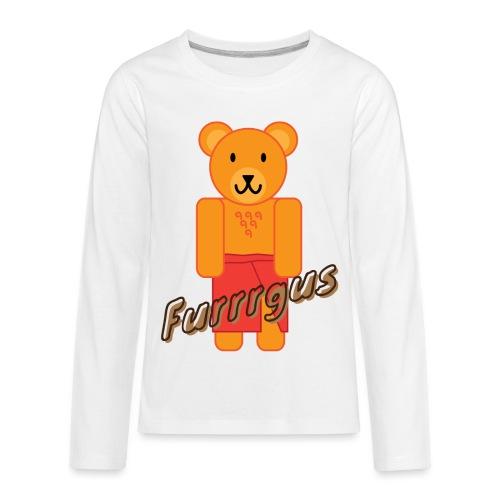 Presidential Suite Furrrgus - Kids' Premium Long Sleeve T-Shirt