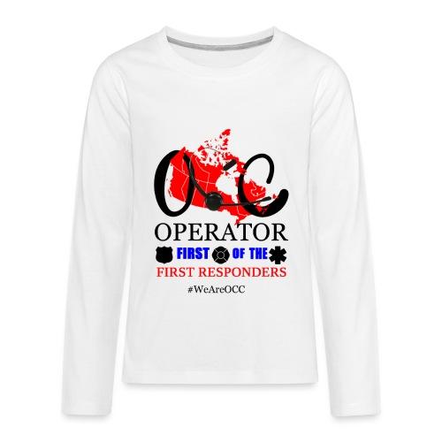 We Are OCC Plus Size - Kids' Premium Long Sleeve T-Shirt
