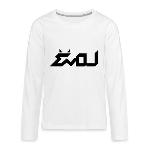 evol logo - Kids' Premium Long Sleeve T-Shirt