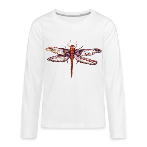 Dragonfly red - Kids' Premium Long Sleeve T-Shirt