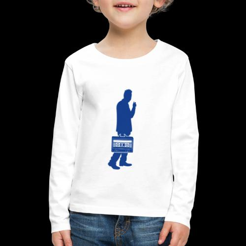 Audiophile | Sound Collector - Kids' Premium Long Sleeve T-Shirt