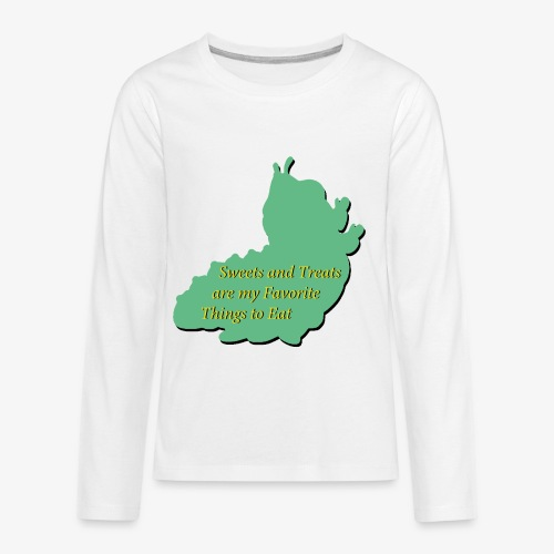 Sweets and Treats on the Chew Chew Train - Kids' Premium Long Sleeve T-Shirt